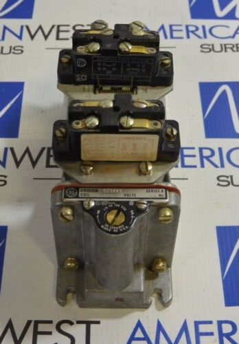 GE General Electric CR2820B 111AA2 Series A 115V 60 Hz Time Delay Relay