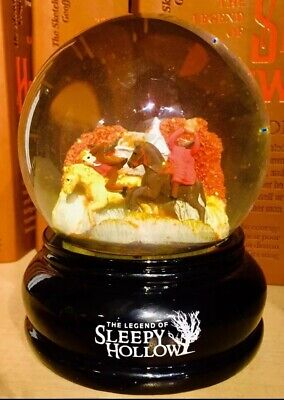 Sleepy Hollow-Headless Horseman Snow Globe Tarrytown Purchase (🔥VERY RARE🔥) - Tarrytown Halloween