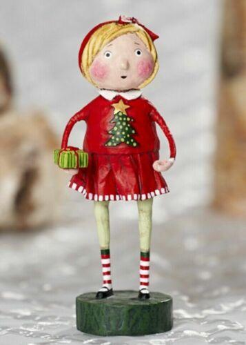 LORI MITCHELL ~ Gift Exchange Girl ~ Folk Art Christmas Figure