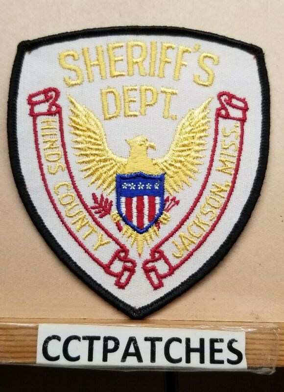 HINDS COUNTY, MISSISSIPPI SHERIFF (POLICE) SHOULDER PATCH MS