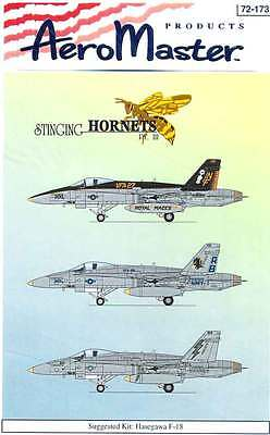 AeroMaster 72-173 Stinging Hornets Pt.III Decal Sheet