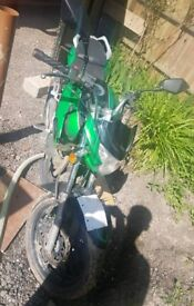 Lexmoto venom 125cc 16 plate probably seized and electrical fault