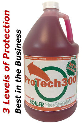 Wood Boiler Water Treatment, 3 Levels of Protection the Best