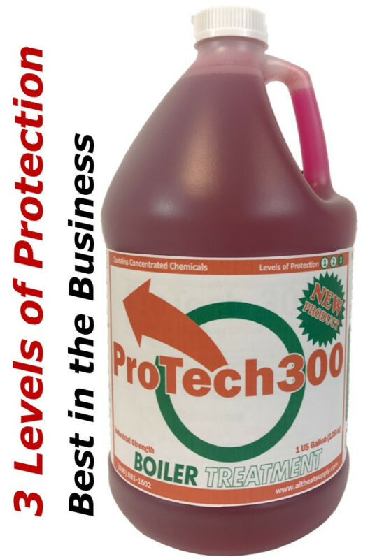 Wood Boiler Water Treatment, 3 Levels of Protection the Best Protection