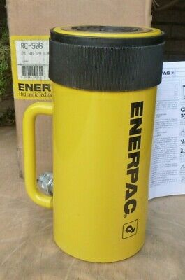 Enerpac Rc-506 Single-acting Hydraulic Cylinder10000 Psi 50 Ton 6.25 Stroke