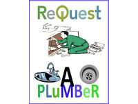 PLUMBER AVAILBLE ON REQUEST