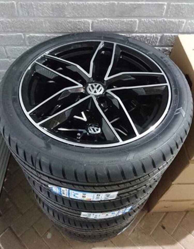 New Rs6 Alloy Wheels Amp Tyres For Vw Transporter T5 T6 In