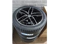 New RS6 Alloy Wheels & Tyres for VW Transporter T5/T6
