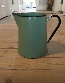 Rustic vintage metal jug