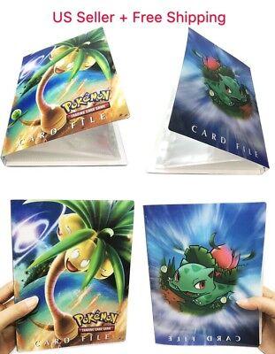 Pokemon Pikachu Binder Portfolio Pocket Album Card Xy Portfolio Holder Cards ()