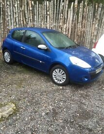 Renault clio...Forsale or swaps for van.