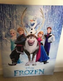 Kids Frozen Movie Canvas