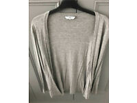 C new look grey cardi size 12
