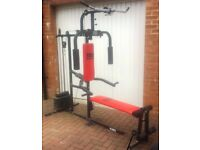 Red pro Power Exercise home gym