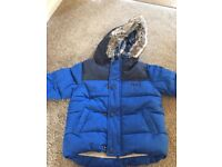 Little boys winter coat by next size 12-18mths