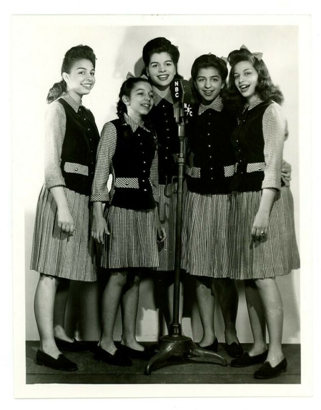 DeMARCO SISTERS photo FRED ALLEN SHOW