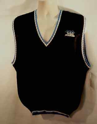 cf4d8029f0e24 NWOT Fairway   Greene Golf VEST 100% Alpaca DESERT MOUNTAIN GC Size L