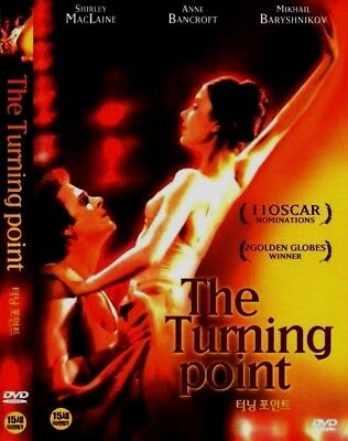 THE TURNING POINT (1977) Shirley MacLaine, Anne Bancroft [DVD] FAST SHIPPING