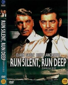 Run Silent Run Deep (1958) New Sealed DVD / Clark Gable, Burt Lancaster