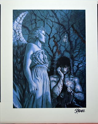 CROW - CEREMONY Limited Edition Print HAND SIGNED James O'Barr w COA Crow Limited Edition