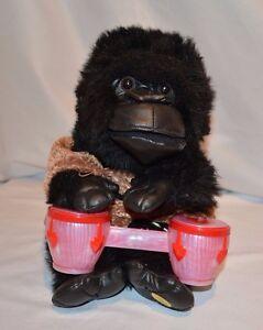 Gemmy Gorilla Singing Light Up Animated