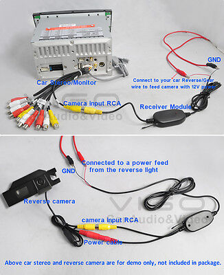 If your car have installed after-market stereo and after connect this camera to the stereo when you put your car in reverse there is show u201cNO SIGNALu201d in ...  sc 1 st  eBay : camera wiring - yogabreezes.com