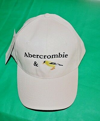 Embroider hats / caps   logo finch abercrombie humorous fanciful brand new Bird
