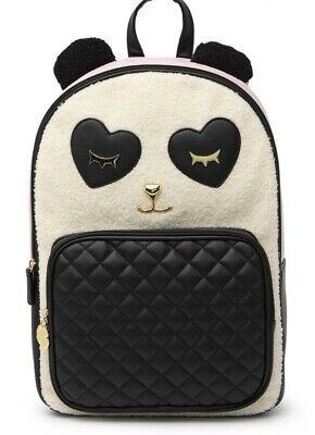 NWT $98 Luv Betsey by Betsey Johnson Badley Animal Backpack Panda