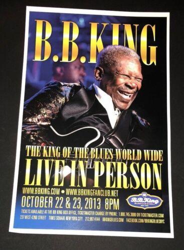 Beautiful King of the Blues Original BB King  at BB King