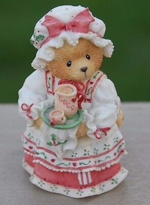 """Cherished Teddies HOLLY """"A homemade cup of love"""" 1995 Priscilla Hillman"""