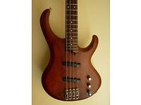 Ibanez Bass Guitar - Model BTB 300 BGWNF (WALNUT) - 4 string - Not Feneder, Gibson, Squire, Yamaha