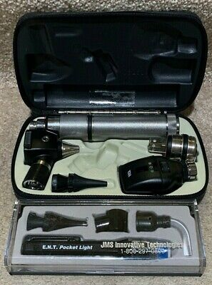 Welch Allyn Diagnostic Otoscope Coaxial Ophthalmoscope 11720 Ent Pocket Light