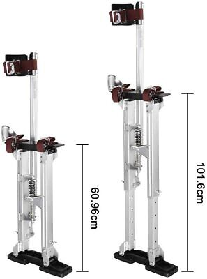 Yescom Stilts 24-40 In. Adjustable Drywall Stilts Taping Paint Stilt Aluminum S
