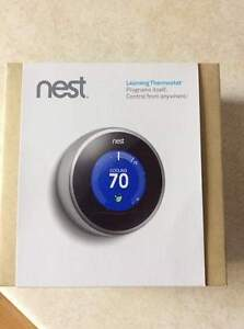 Nest Learning Thermostat (brand new)