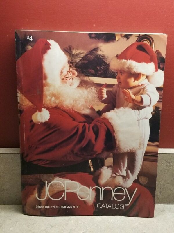 Vintage JC Penney Christmas Catalog 1993 Barbie, Sega, Nintendo, Toys, Clothes