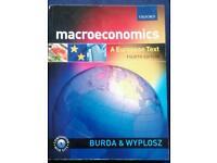 Macroeconomics - A European Text (isbn: 0199264961)