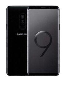 SAMSUNG GALAXY S9 UNLOCKED MIDNIGHT BLACK 64GB