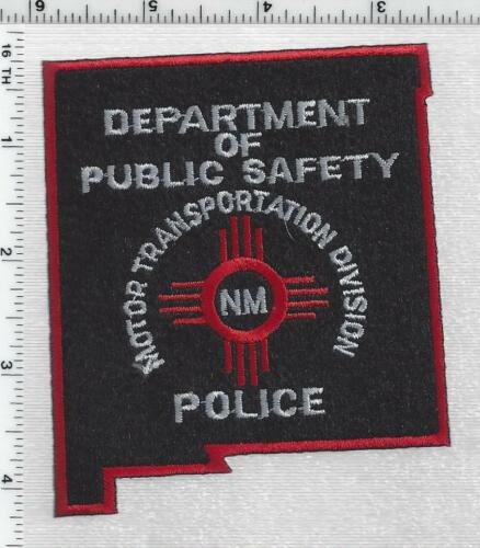 Motor Transportation Division Police (New Mexico) 3rd Issue Shoulder Patch
