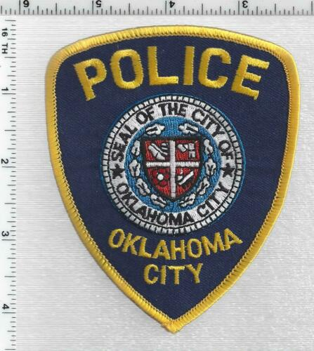 Oklahoma City Police (Oklahoma) 2nd Issue Shoulder Patch