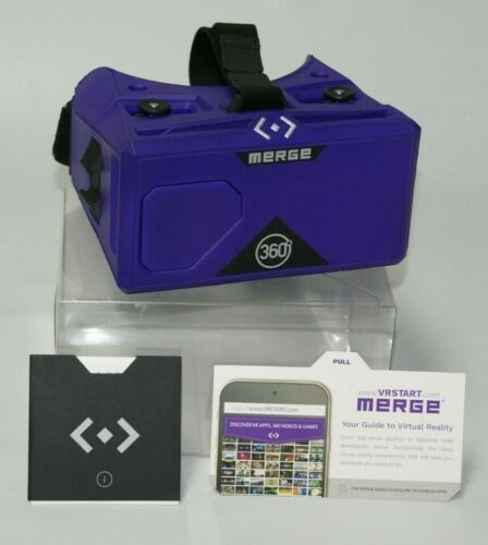 Merge VR Virtual Reality Goggles 360 - Smartphone Headset -Excellent Condition!