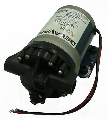 12v Delavan Diaphragm Fb2 Series Pump 100 Psi 7 Gpm Bypass Design 7870-111y