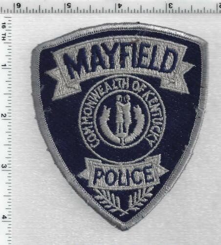 Mayfield Police (Kentucky) 2nd Issue Shoulder Patch