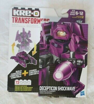 Kre-o Transformers Kreon Battle Changer Shockwave MIB
