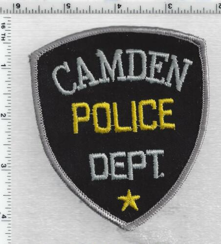 Camden Police (Maine) 1st Issue Shoulder Patch