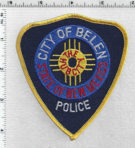 Belen Police (New Mexico) 3rd Issue Shoulder Patch