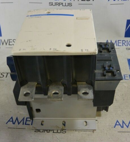 Square D Telemecanique LC1F265 Contactor 480-500V 40-400Hz -Tested-