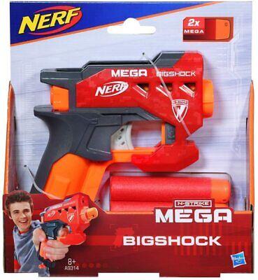 Hasbro Nerf N-Strike Mega BigShock Dart Blaster Gun