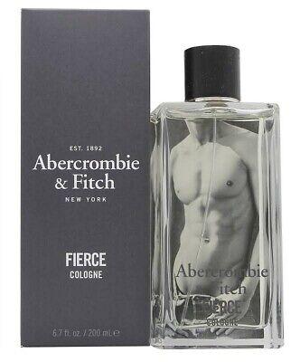 Abercrombie & Fitch Fierce 6.7 oz / 200 ml Men's Eau de Cologne BRAND NEW SEALED