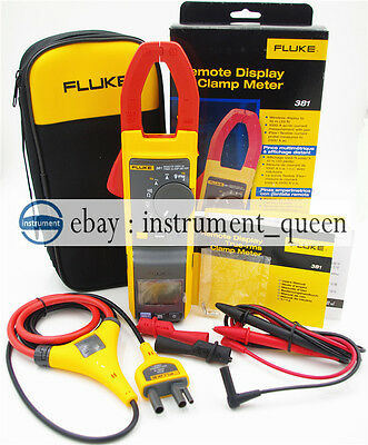 Fluke 381 Remote Display True Rms Acdc Clamp Meter With Iflex New F381