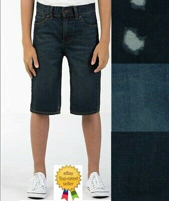 - Levis Boys 505 Regular Fit Denim Shorts Your size 6 10 12 14 16 18 NEW